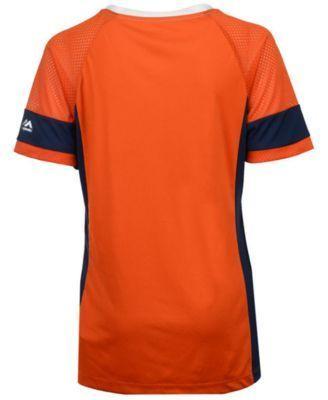 Majestic Women's Denver Broncos Draft Me T-Shirt - Orange L https://www.fanprint.com/licenses/denver-broncos?ref=5750
