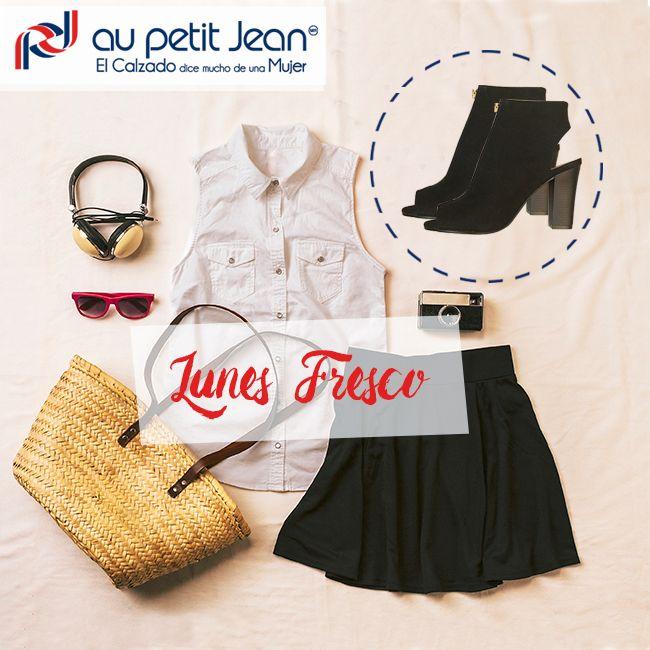Para empezar bien la semana un estilo fresco y casual combinado con tus #AuPetitJean