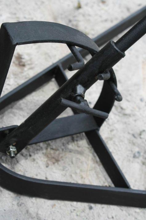 asador criollo - muy robusto - 50 x 90 cm