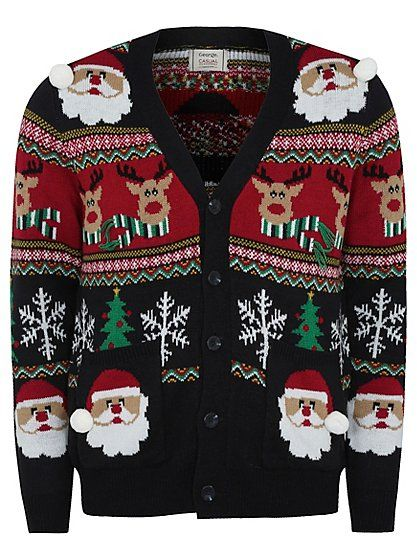 Christmas Cardigan , read reviews and buy online at George at ASDA. Shop from our latest range in Men. What better way to celebrate the festive period other ...