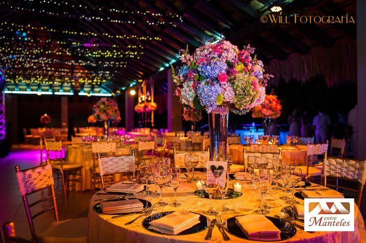 Organización de Bodas en Cali, Decoración de Bodas en Cali y Matrimonios Campestres en Cali. www.entremanteles.com