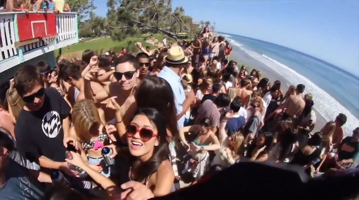 #2 University of California, Santa Barbara.  Ranked #2 top party school 2013-2014 by Princeton Review; and #10 of the 20 most fun colleges in America 2014 by Business Insider