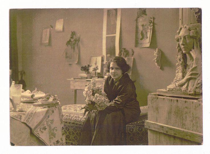 Luna Drexler 1912, Monachium. Orgniał w archiwum TAwP w Krakowie