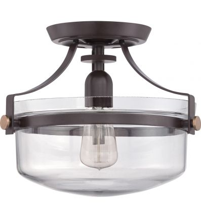 Quoizel - Uptown Penn Station Semi-Flush Mount | Lamps.com