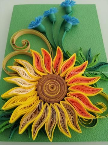 Paper Quilling Cards Designs By Georgia - Life Chilli