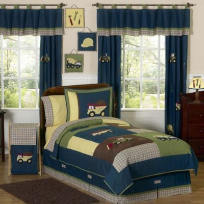 Sweet Jojo Designs Construction Zone Bedding Collection - BedBathandBeyond.com