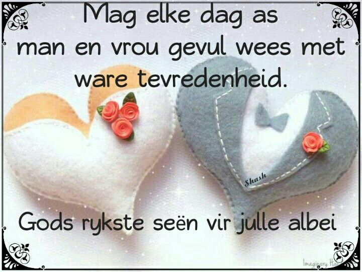 Image Result For Wedding Wishes Afrikaans