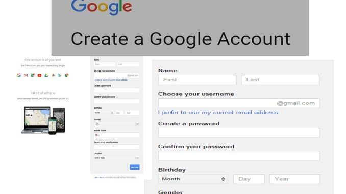 Gmail New Account Steps To Create A Gmail Account Google Account Login Tipcrewblog Google Account Accounting Gmail