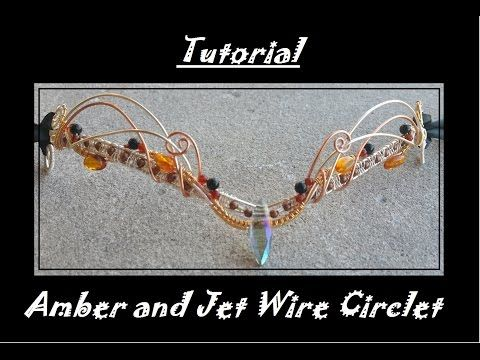 Tutorial: Wire Circlet - YouTube