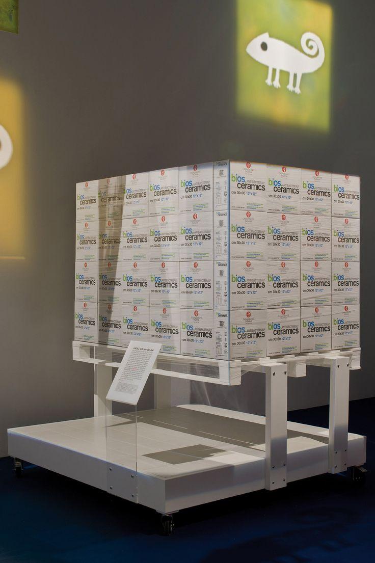 """""""2x2x2 sulle vie del Sud"""", realizzata da Casalgrande Padana su progetto di Tam associati, affronta e svolge il tema della sostenibilità ."""