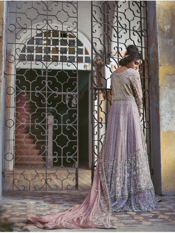 5ea5ac1ae1 Traditional heavily embellished Pakistani bridal lehnga dress by famous  dress designer Uzma Baber