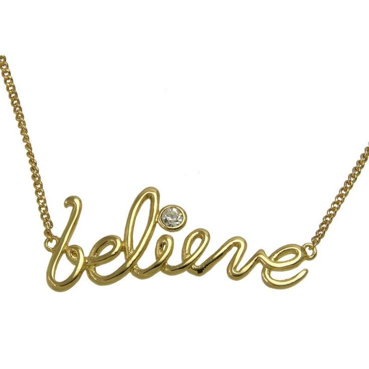 Disney Couture Believe Necklace £25