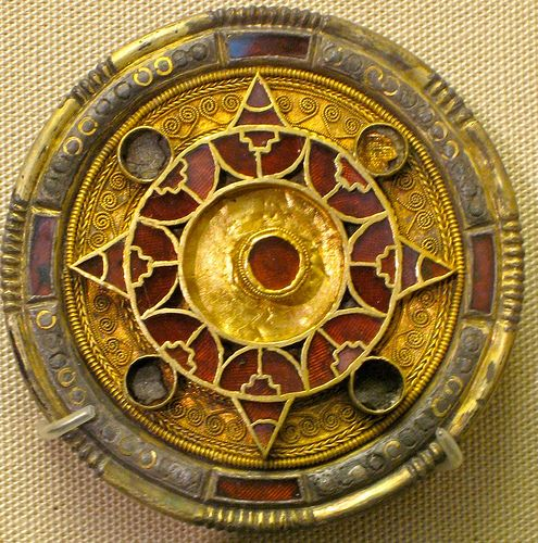 Anglo Saxon Brooch, 6th-7th c. found in Faversham, Kent.
