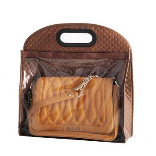 Вместительный коричневый чехол для хранения сумки BE-02B-S