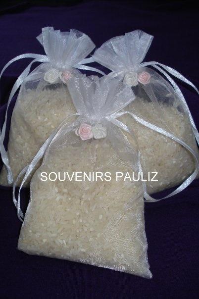 bolsas con arroz