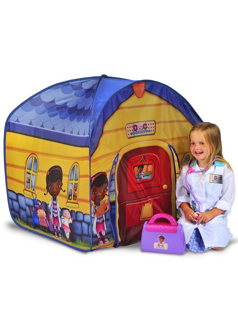 Doc Mcstuffins Toy Hospital Pop Up Play Tent Kids