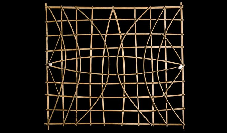 Navigation chart (mattang), probably 19th or early 20th century C.E., Marshall Islands, Micronesia, 75.5 cm © Trustees of the British Museum