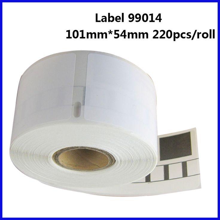 5Rolls 99014 Compatible Dymo Label Printer Blank White Sticker Label Rolls 99015 99016 Printer Ribbon