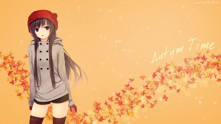 Dziewczyna, Jesieni, Manga, Anime