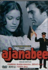 Ajanabee 1974 (1974) Hindi Movie Online in HD - Einthusan Rajesh Khanna, Zeenat Aman, Prem Chopra Directed by Shakti Samanta Music by R.D. Burman 1974 [U] ENGLISH SUBTITLE