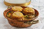 Celebration Pot Pie with Pumpkin Biscuit Crust | Recipe from FatFree Vegan Kitchen
