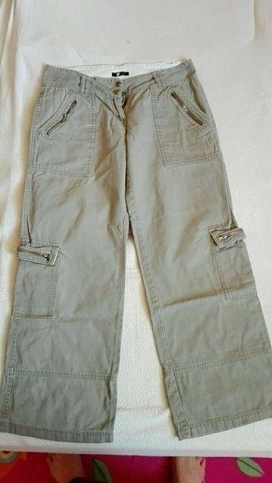 Šedohnědé sportovní kalhoty