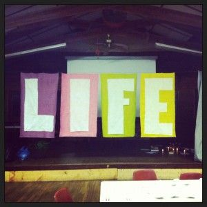 The Game Of Life Prayer Stations (part 1)