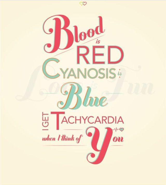 Medical term valentine