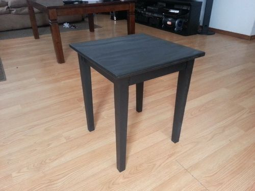Make A Side Table Taller: How To Build Plywood End Tables For $6 Dollars Each