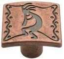 Modern Southwestern Knob - Copper Kettle 25mm L-P06472-CK-C