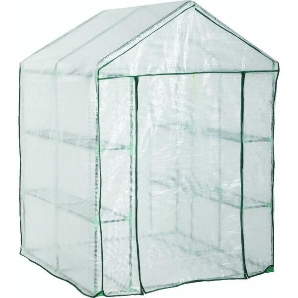 Portable Greenhouse Replacement Cover : Do it best hs c replacement cover for walk in