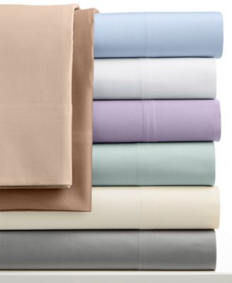 I'd like Full size 1000 Thread Count Egyptian Cotton Sheet Sets with a percale weave | macys.com