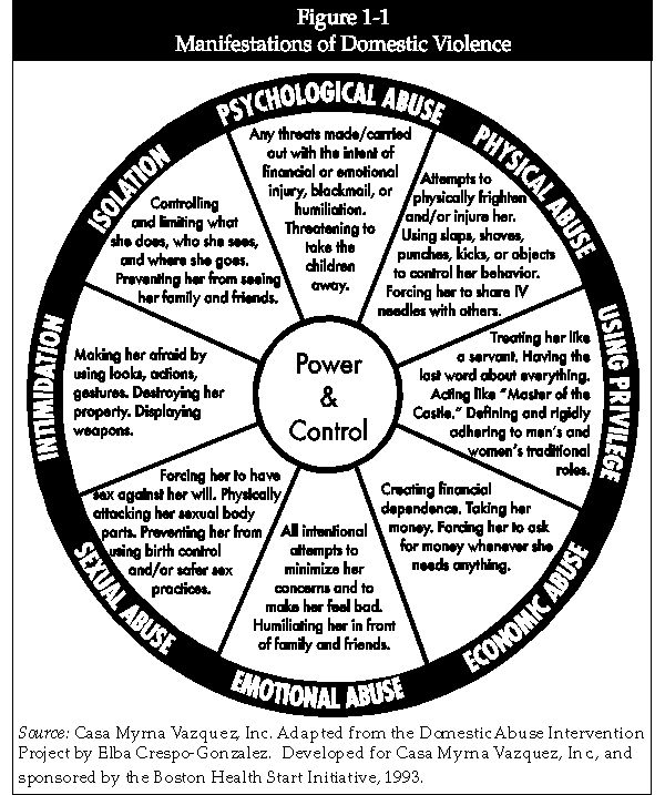Manifestations of Domestic Violence: This Power and