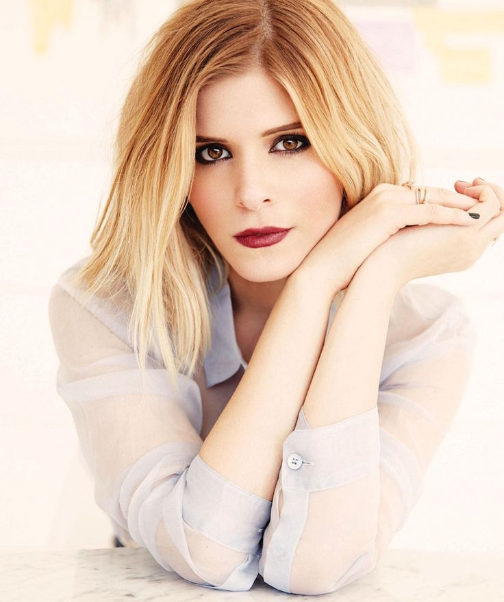 Kate Mara Stars in Manhattan Magazine. I love the black eye makeup here