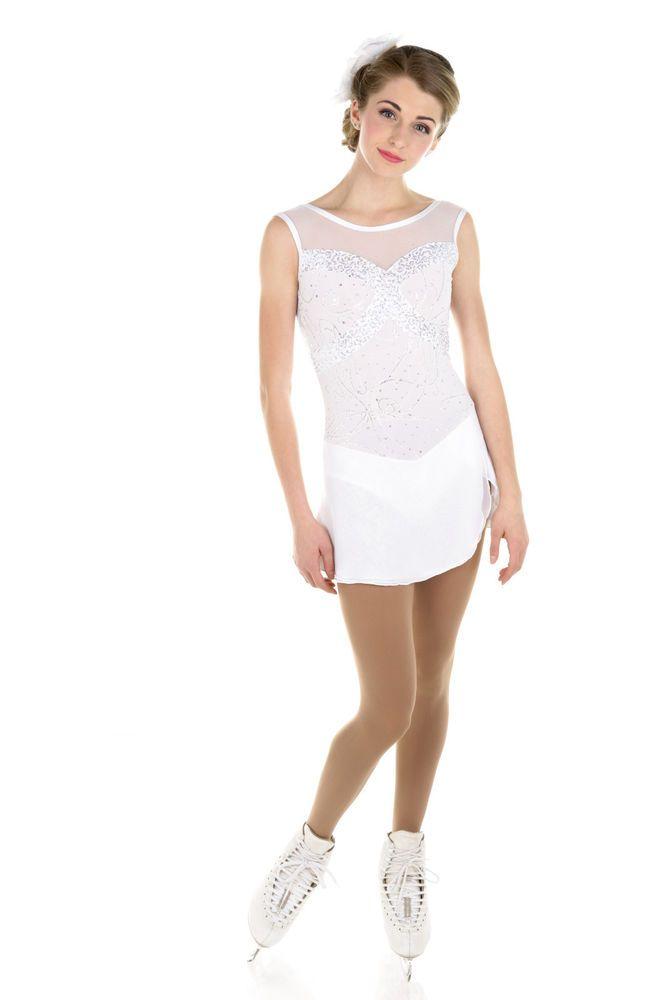 New Elite Xpression Figure Skating Dress D295-W Made on Order | eBay