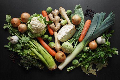 Zeleninový vývar   Cuketka