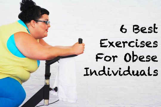 These 6 bodyweight exercises for obese individuals is the perfect place!