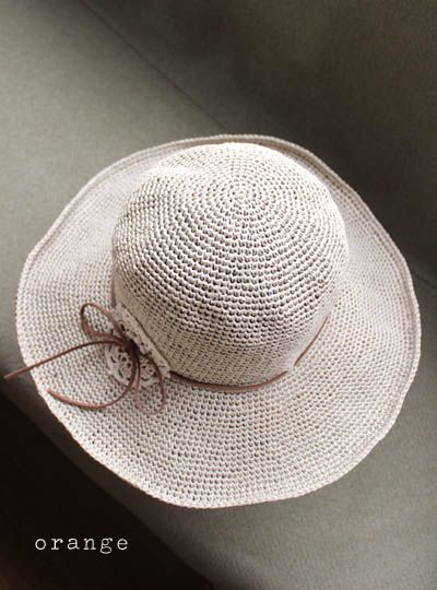 crochet washi hat