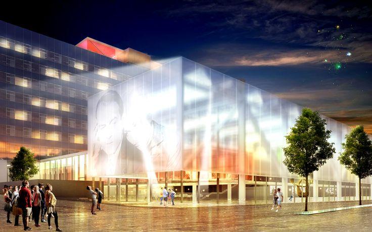 Levitt Bernstein's conversion of Manchester's Granada Studios to 'Manchester Grande' performance space for Allied London.