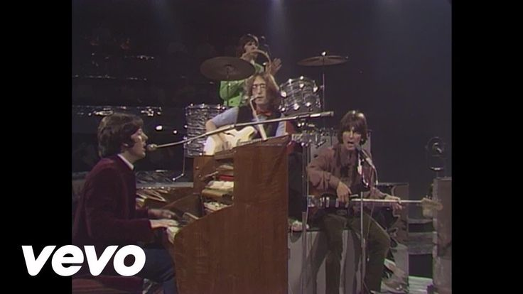 The Beatles - Hey Jude  Puppy face McCartney doing this brilliant song. Those were the days.