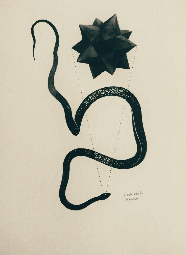 #gabrielbendandi #snake #blackstar #star