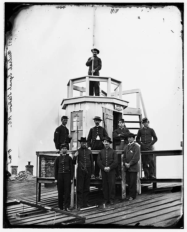 61 best telegraphs and signal corp images on pinterest civil wars historic image of washington d central signal station winder building and e streets nw and signal corps men publicscrutiny Images