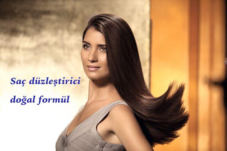 Saç düzleştirici doğal formül - İbrahim Saraçoğlu - mucize iksirler
