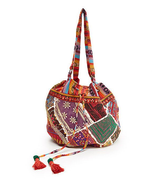 """SOUTHERN GIRL FASHION $98 """"Patchwork Bag Embroidered Bohemian Travel Shoulder"""" #Boutique"""