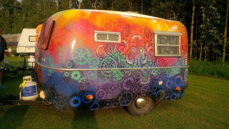 Wicked Painted Job Boler Bolers Campers Caravans And