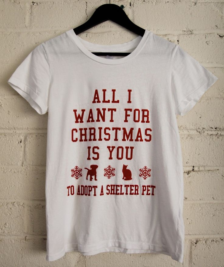 All I Want For Christmas Is You (To Adopt A Shelter Pet) by The Tree Kisser // http://bit.ly/1MtS5k8