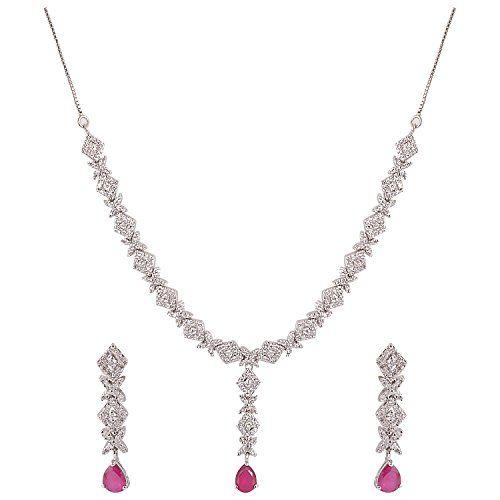 Swank Silver Exclusive Necklace with Earrings SS76 (Multi-Colour) Swank Silver http://www.amazon.in/dp/B00LW9SJMY/ref=cm_sw_r_pi_dp_URddub0BHVT7G