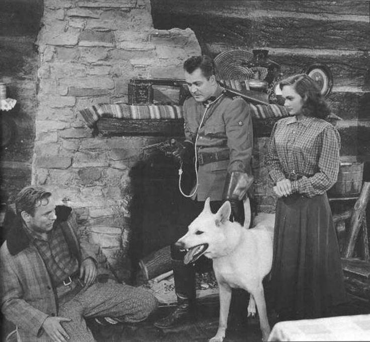 Chinook the Wonderdog, movie with Kirby Grant and Gloria Talbott