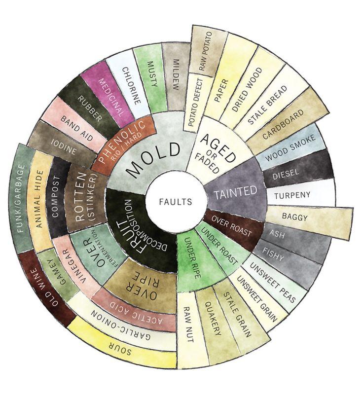 counter culture flavour wheel defects - Google zoeken