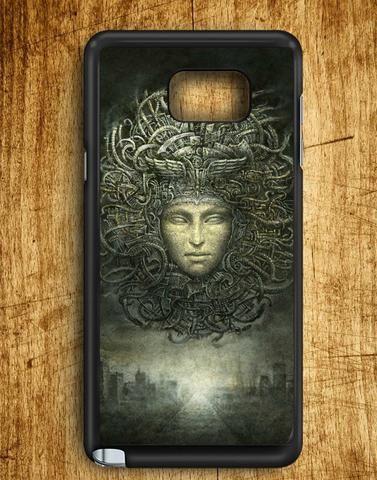 Woman Face Look Like Medusa Samsung Galaxy Note 5 Case